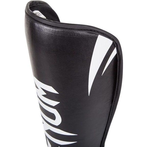 protege tibias, venum, challenger, noir, boxe, kick, boxe thai