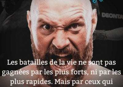 boxe, tyson fury, citation, esprit, force, motivation