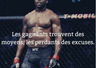 francis, ngannou, ufc, mma, motivation, gagnant, excuse, citation
