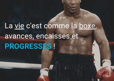 mike tyson, boxe, vie, citation, progression, motivation