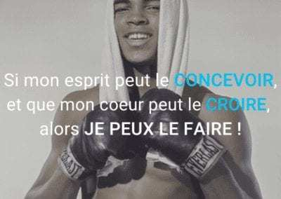 mohamed ali, muhhamed ali, citation, motivation, esprit, croyance