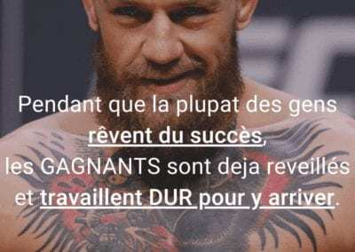 reveil, conor mcgregor, ufc, mma, citation, travail, motivation