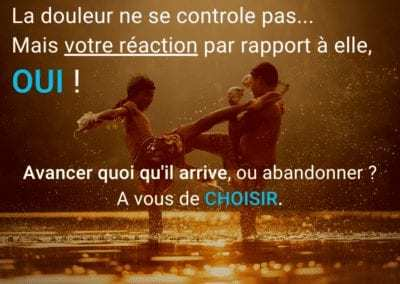 douleur, motivation, combat, citation, abandon
