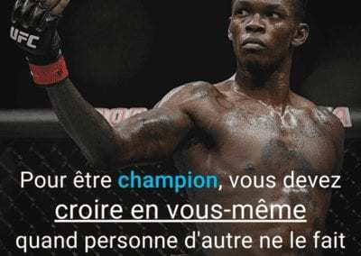 adesanya, ufc, motivation, proverbe, citation, mma, champion