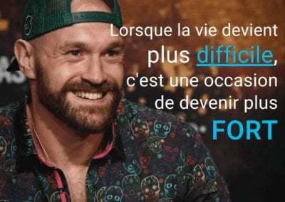 tyson fury, boxe, citation, motivation, vie, difficile
