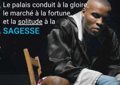 seul, solitude, boxe, gloire, sagesse, citation