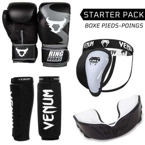 pack, pas cher, promo, boxe, pieds, poings, venum, equipement, protection