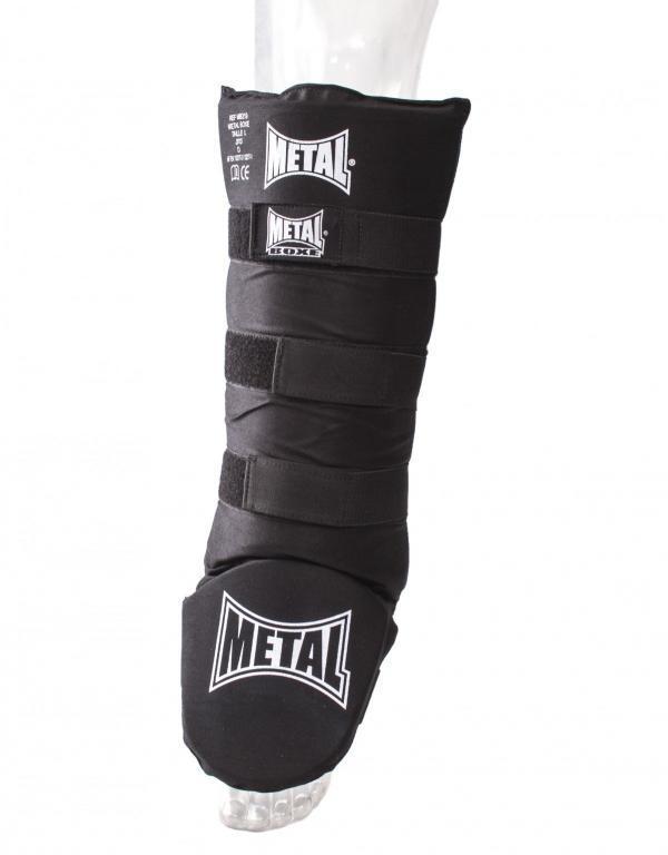 protection, tibias, pieds, metal boxe, entrainement, compétiteur, boxe, kick, muay thai